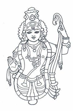 Ganesh Mandala Coloring Pages Sketch Coloring Page Mysore Painting, Kerala Mural Painting, Indian Art Paintings, Madhubani Painting, Outline Drawings, Art Drawings Sketches, Easy Drawings, Arte Tribal, Tribal Art