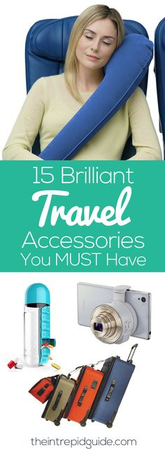 Travel Smarter and Safer with these 15 Brilliant Travel Accessories you didn't know you needed