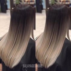 Pretty Ombre Balayage Hairstyle for Long Hair, 2019 Long Hair Color and Haircuts #ombrehairstyles2019 #shorthairbalayage