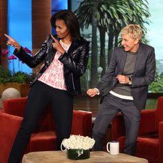 Michelle Obama se laisse allée sur Uptown Funk | HollywoodPQ.com