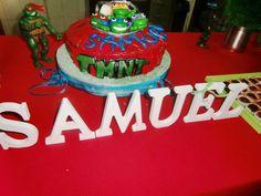 Bolo aniversário tartarugas ninjas