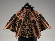 Cape Designer: Emile Pingat (French, active 1860–96) Date: ca. 1895