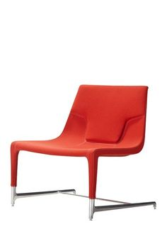 Casabianca Furniture  Modena Accent Chair - Orange Linen