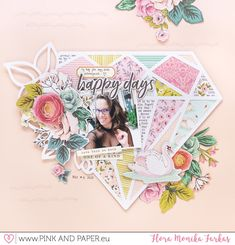 April 2019 Challenge - Inspired by patchwork (Pink and Paper) Scrapbook Albums, Scrapbooking Layouts, April Challenge, Happy Anniversary Wishes, Scrapbook Storage, Patchwork Patterns, Wedding Scrapbook, Pattern Paper, Happy Day