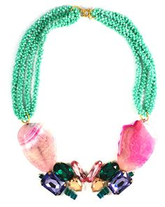druzy agate necklace http://www.totemshop.in.ua/collection/kolie/product/kolie-rozovye-mechty