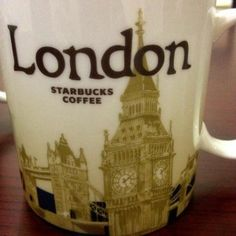 Starbucks London Global Icon Series City Mug