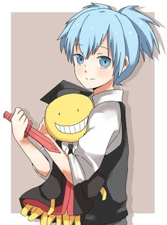 I want a Koro-sensei stuff toy in my room too!