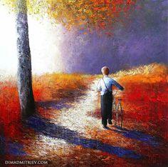 ART~ Home Before Dark Falls ~ Dima Dimitrev
