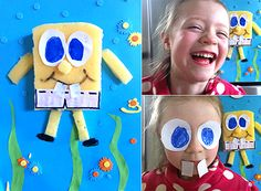 Simple Craft Ideas Archives - Page 4 of 6 - MollyMooCrafts Spongebob Crafts, Craft Projects, Craft Ideas, Cardboard Crafts, Handmade Toys, Party Planning, Random Things, Crafts For Kids, Butterfly
