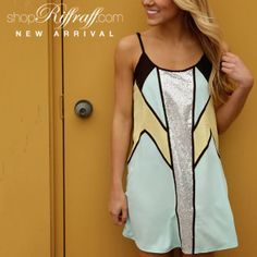 Our Electric Feel Dress is just the dress to turn heads and make a statement this spring! #FREESHIPPING