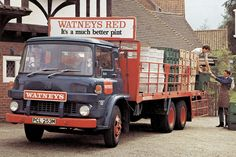 Worst beer ever, bar none (except maybe Carling, Whitbread Trophy, Worthington, Fosters John Smiths etc etc. All Truck, Big Trucks, Pickup Trucks, Commercial Van, Commercial Vehicle, Classic Trucks, Classic Cars, Volvo, Bedford Truck