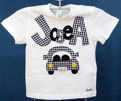 Camiseta coche con nonmbre