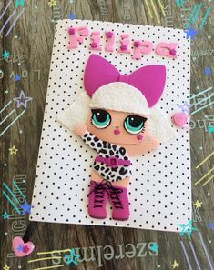 Diy Notebook, Decorate Notebook, Notebook Design, Foam Crafts, Diy And Crafts, Crafts For Kids, Arts And Crafts, American Girl Beds, Foam Sheets
