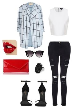 Dirty class by jbanna on Polyvore featuring polyvore, fashion, style, River Island, Frame Denim, Yves Saint Laurent, L.K.Bennett, MANGO and Fendi