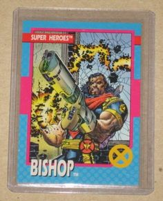 X-Men Series 1 (Impel 1992) Card #38 Bishop NM
