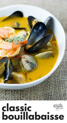 Bouillabaisse A Provençal Seafood Stew From The South Of France Finished With Pernod Classic Bouillabaisse Recipe French Seafood Soup Bouillabaisse Soup Bouillabaisse Marseille, Bouillabaisse Rezept, Seafood Bouillabaisse, Cioppino Recipe, Seafood Bisque, Seafood Stew, Seafood Dinner, Fish Recipes, Seafood Recipes
