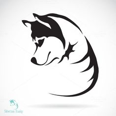dog tattoo Traditional Boston Terriers is part of Best Boston Terrier Tattoos Images Boston Terrier Tattoo - Photo about Vector image of a dog siberian husky on white background Illustration of nature, alaskan, breed 39236116 Husky Logo, Husky Tattoo, Husky Drawing, Siberian Husky Dog, Dog Silhouette, Dog Tattoos, Image Hd, Vector Art, Image Vector