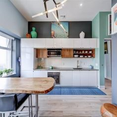 """Check Out This Gorgeous Designer's Own Home! Experience """"Mad Men"""" Luxury Loft Living In This One Of A Kind Space. Luxury Loft, Condo Decorating, Own Home, Table, Inspiration, Furniture, Design, Home Decor, Biblical Inspiration"""