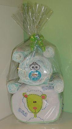 Baby Geschenke / Windelbär / Windeltorte