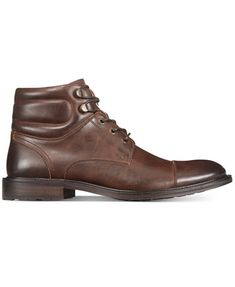 Unlisted by Kenneth Cole Men's Roll With It Cap-Toe Ankle Boots | macys.com