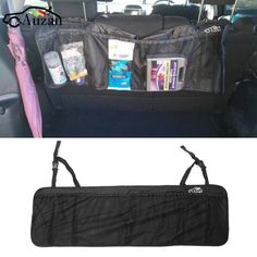 fbb8bbff56 110 x 34cm Car Seat Back Tidy Organiser Multi-Pocket Auto Travel Hanging  Storage Bag