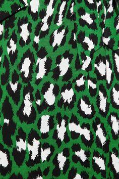 Diane von Furstenberg New Jeanne leopard-print silk-jersey wrap dress $345