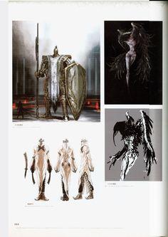 Tagged with gaming; Fantasy Concept Art, Dark Fantasy, Dark Souls 2, Demon's Souls, Dark Blood, Monster Concept Art, Monster Design, Fantasy Inspiration, Character Inspiration