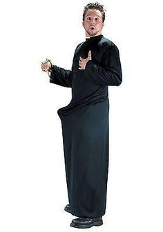 Dedicate yourself to a higher cause when you go in our priest costumes. We have nun and priest costumes in all styles from the traditional Catholic look to the adult, funny kind!