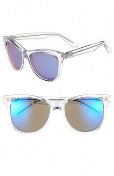 eec5d3f2bf4 Wildfox  Catfarer Deluxe  55mm Sunglasses available at  Nordstrom  JimmyChoo  Wildfox