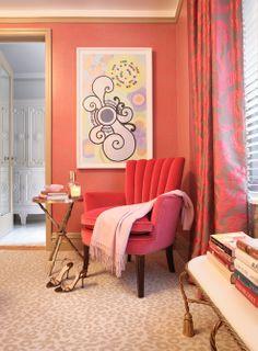 Residential Interior Design - New York Interior Design New York, Residential Interior Design, 2017 Design, Design Trends, Love Chair, Art Deco Furniture, Cozy Corner, Contemporary Rugs, Traditional House