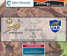 Another weekend of action packed sport. It's the VS Kick-off is at at the Estadio Padre Ernesto Martearena,Salta stadium. Visit at the and stock up on all your snacks. Rugby Championship, Biltong, Deli, Action, Snacks, Sport, Salta, Parents, Argentina