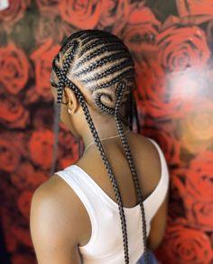 Lemonade Braids Hairstyles, Feed In Braids Hairstyles, Braids Hairstyles Pictures, Black Girl Braids, Braided Hairstyles For Black Women, Baddie Hairstyles, Girls Braids, Weave Hairstyles, Braid Styles For Girls