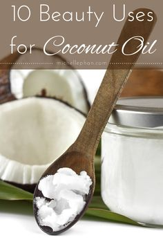 10 beauty uses for coconut oil