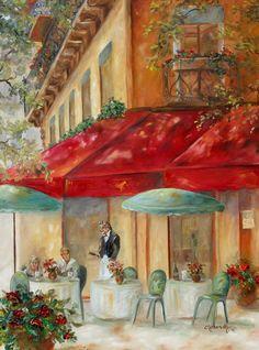 Cafe Paris Painting  - Cafe Paris Fine Art Print