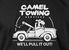 Camel Towing T-shirt Camel Toe Mens Ladies Tee  Funny Geek T-shirt Cool Tee