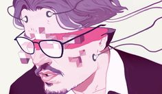 'Transcendence' For The New Yorker  For the movie review of Transcendence. Johnny Depp evaporating into pixels. The worst computer virus of all, Johnny Depp. Time to turn on the pop up blocker.