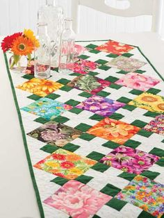Jumpin' Jack Table Runner