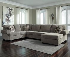 Jinllingsly 3-Piece Sectional with Chaise by Signature Design by Ashley