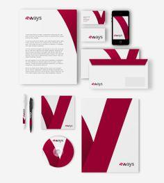 Progettazione logo design 4 ways, team di videomaker di milano. Progettazione That's Com