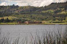 Lago Sochagota, Paipa, Boyaca, Colombia