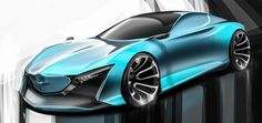 Mazda Horizon Concept Design on Behance