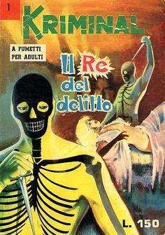 #Kriminal, il fumetto noir italiano ispirato a #Diabolik