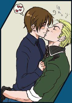 Just a little kiss ;)