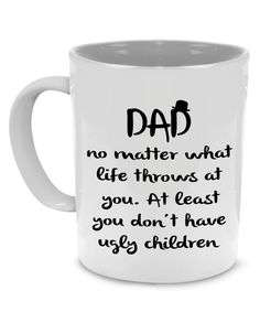 20 Father's Day Gift Basket Ideas for a Totally Customized Present Funny Dad, Papa, Grandpa Coffee Mug - A Perfect Birthday or Father's Day Gift, Printed on Both Sides!