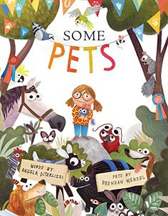 March 6-10. Join us for our Storytime where we learn about pets.Some Pets by Angela DiTerlizzi