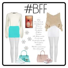 A fashion look from December 2016 featuring white shirts, off shoulder shirt and low top. Browse and shop related looks. Off Shoulder Shirt, White Shirts, Talbots, Adidas Originals, Bff, Marc Jacobs, Prada, Fashion Looks, Polyvore
