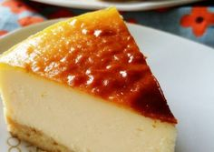 Rich & Cheesy Baked Cheesecake
