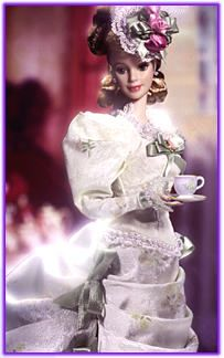 1998-Barbie Porcellana Mint Memorial Victorian Tea
