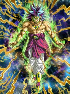 Dragon Ball Z, Broly Super Saiyan, Anime Echii, Dbz Characters, Pokemon, Z Photo, Animes Wallpapers, Science Art, Anime Shows