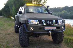 наши работы Nissan Patrol Y61 колеса 42 дюйма